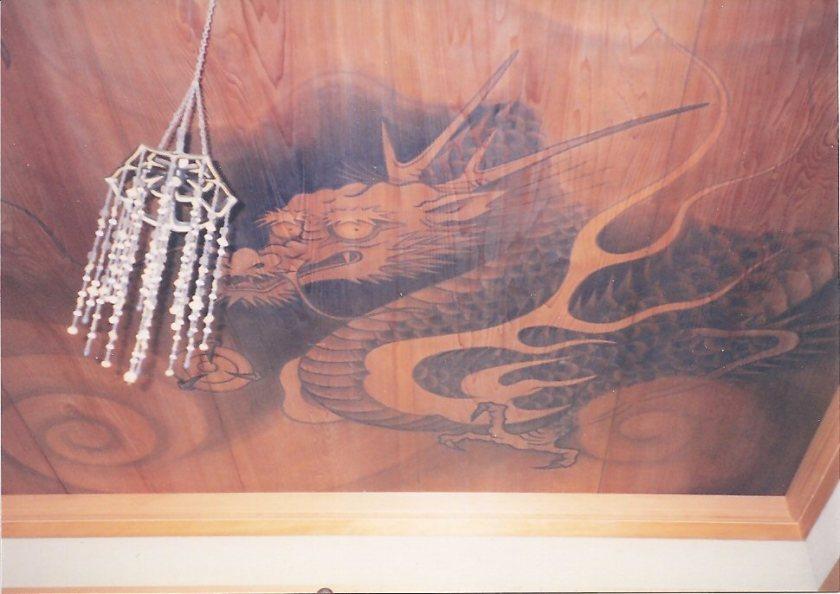 Dragon ceiling