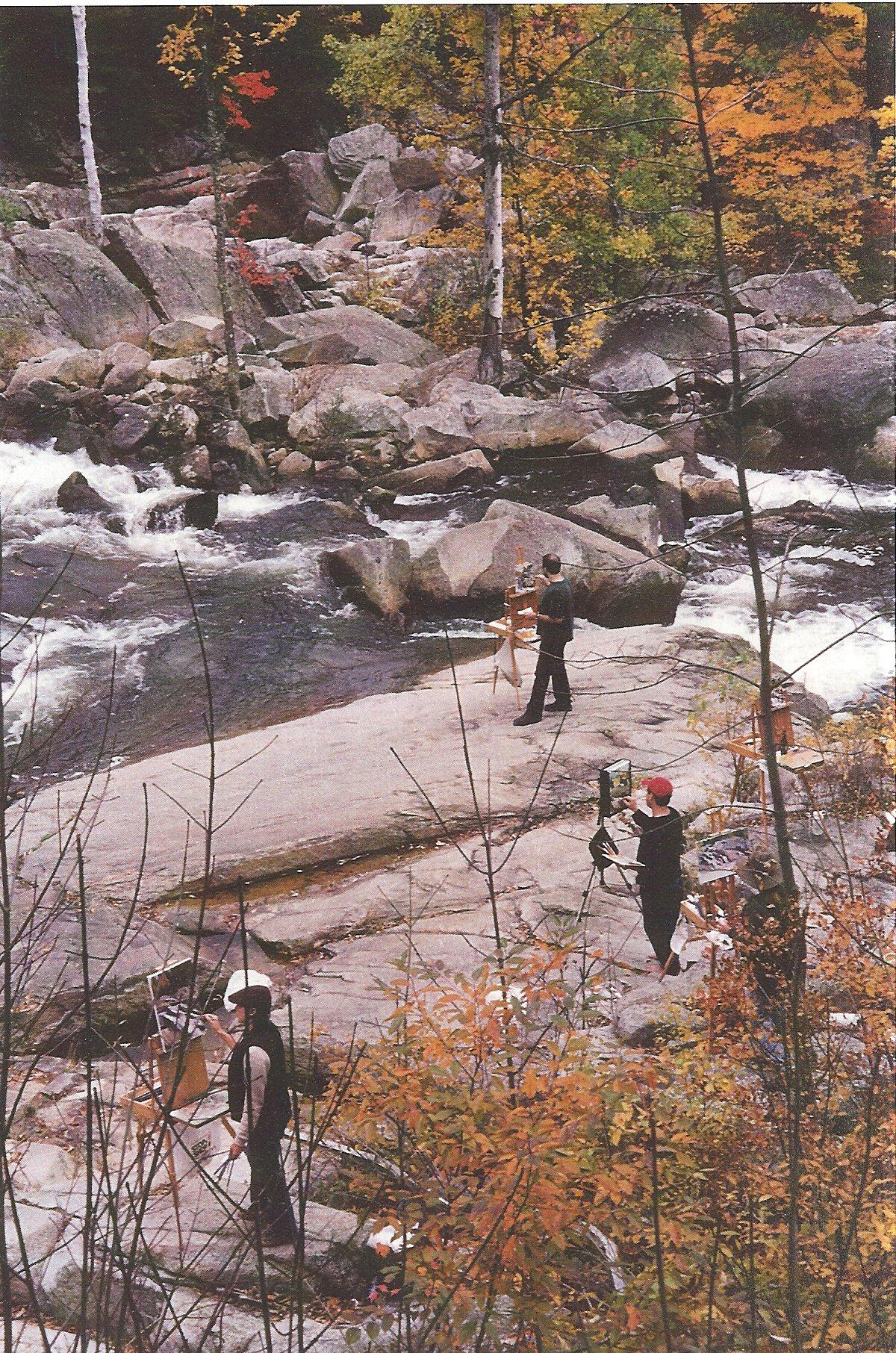 Painters at Jackson Falls